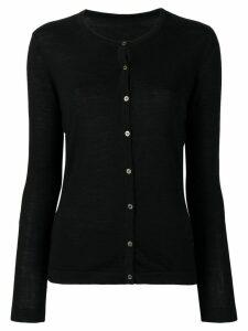 Sottomettimi round neck cardigan - Black