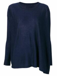 Sottomettimi fine knit sweater - Blue