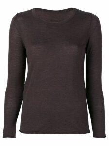 Sottomettimi fine knit sweater - Brown