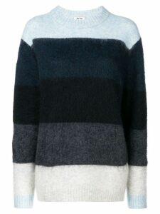 Acne Studios Albah striped sweater - Blue