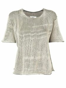 Mm6 Maison Margiela loose fit top - Neutrals