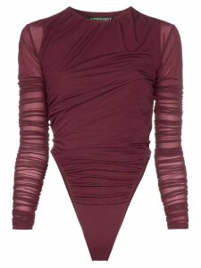 Y/Project Ruched Detail Body - Purple