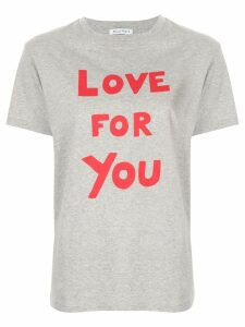 Bella Freud Love For You T-shirt - Grey