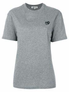 McQ Alexander McQueen Swallow patch T-shirt - Grey