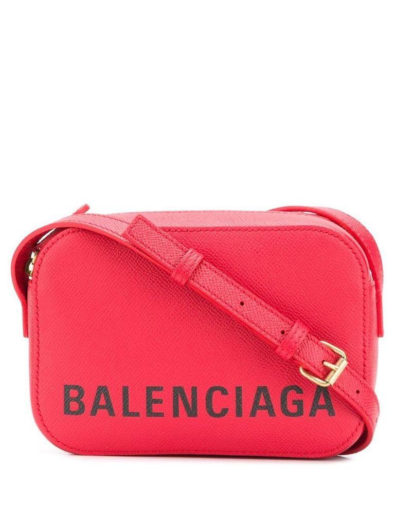 Balenciaga Ville Camera XS AJ crossbody bag - Red