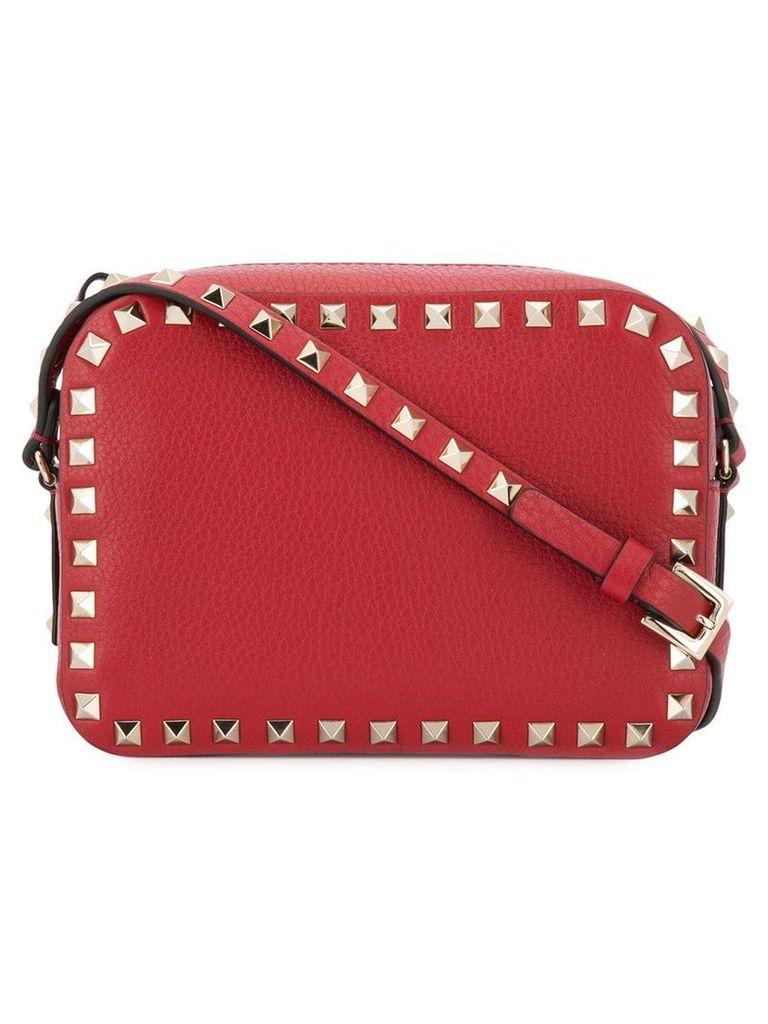 Valentino Valentino Garavani Rockstud crossbody bag - Red