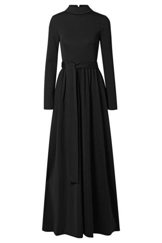 The Row - Damico Ponte Gown - Black