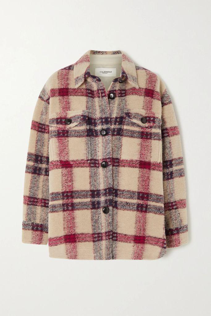 Markus Lupfer - Hailey Pleated Printed Silk-blend Lamé Midi Skirt - Silver