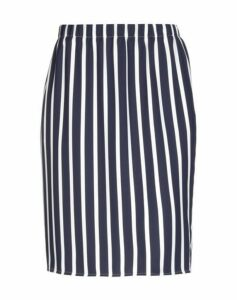BLUE LES COPAINS SKIRTS Knee length skirts Women on YOOX.COM