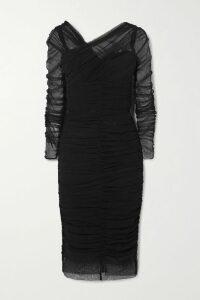 JW Anderson - Belted Cotton-poplin Maxi Dress - Beige