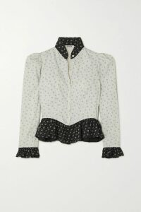HATCH - The Slouch Crepe De Chine Mini Dress - Black