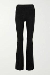 Sonia Rykiel - Belted Ribbed Cotton-blend Mini Dress - Black