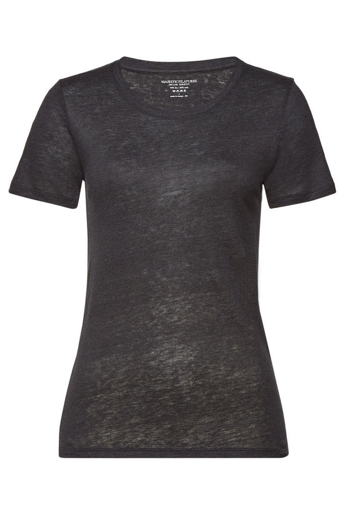 Majestic T-Shirt with Linen and Silk