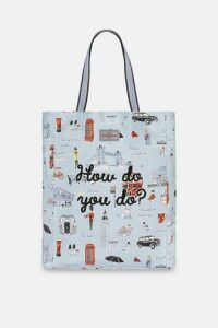 London Icons Lightweight Tote Bag