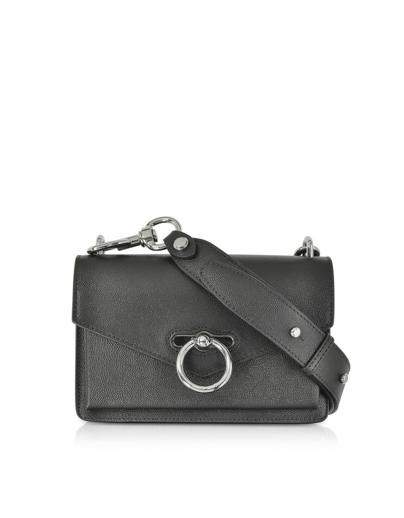 Rebecca Minkoff Designer Handbags, Black Caviar Leather Jean Xbody Bag