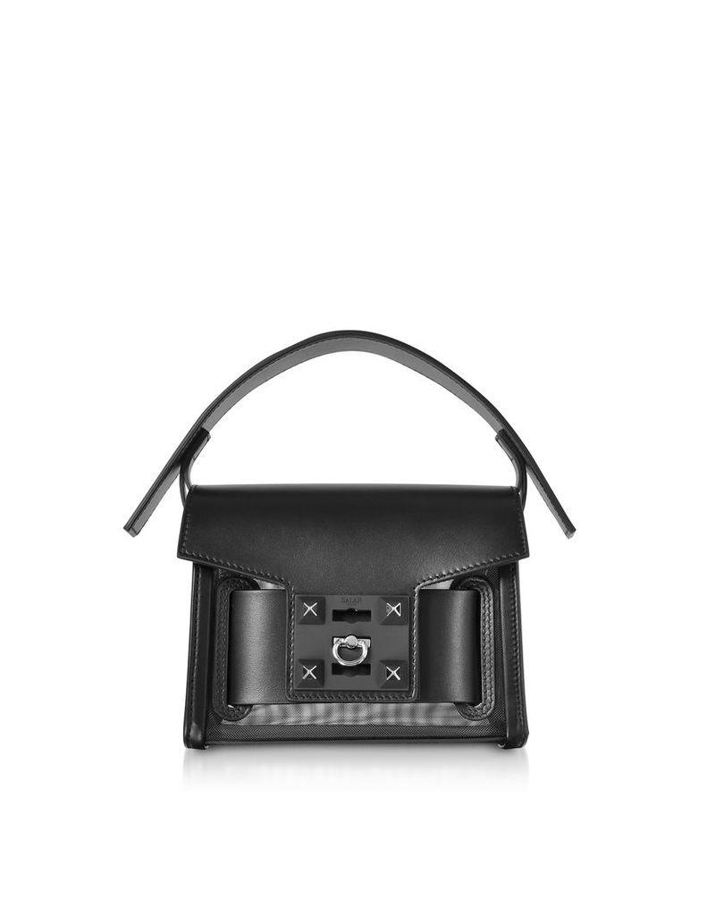 Salar Designer Handbags, Gaia Mesh Mini Crossbody Bag