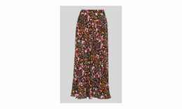 Floral Meadow Bias Cut Skirt