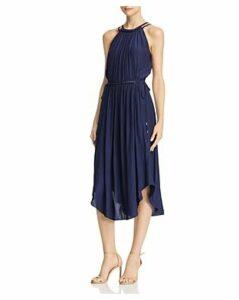 Ramy Brook Laurel Chain-Trim Dress