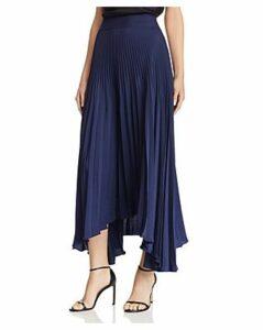 Ramy Brook Maxine Pleated Midi Skirt