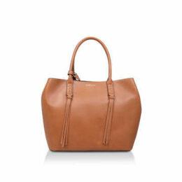 Carvela Selena Plait Front Tote - Tan Tote Bag