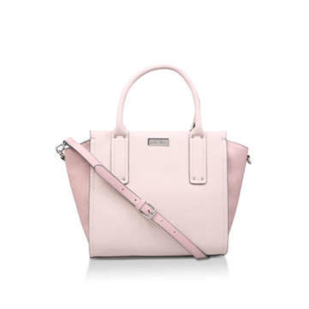Carvela Cleo Winged Tote - Pink Tote Bag