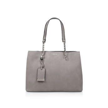 Carvela Camilla Slouch Tote - Grey Tote Bag