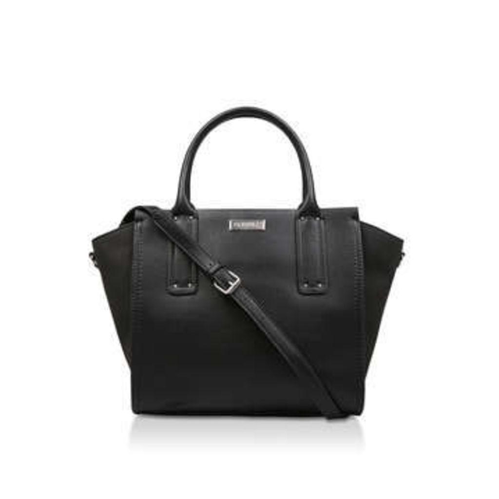 Carvela Cleo Winged Tote - Black Tote Bag