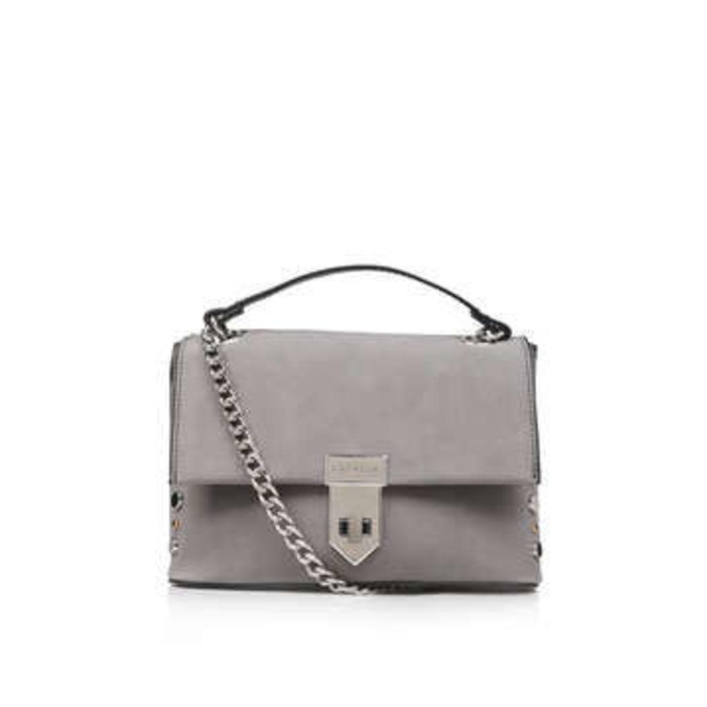 Carvela Cherry Stud Xbody - Grey Shoulder Bag