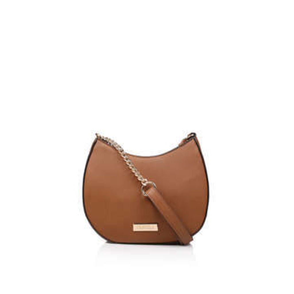 Carvela Che Moon Saddle Xbody Bag - Tan Cross Body Bag