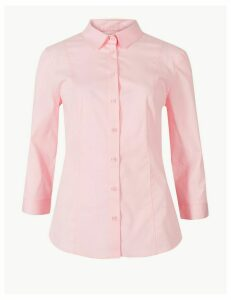 M&S Collection 3/4 Sleeve Shirt