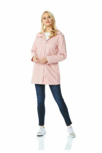 Polka Dot Rain Coat