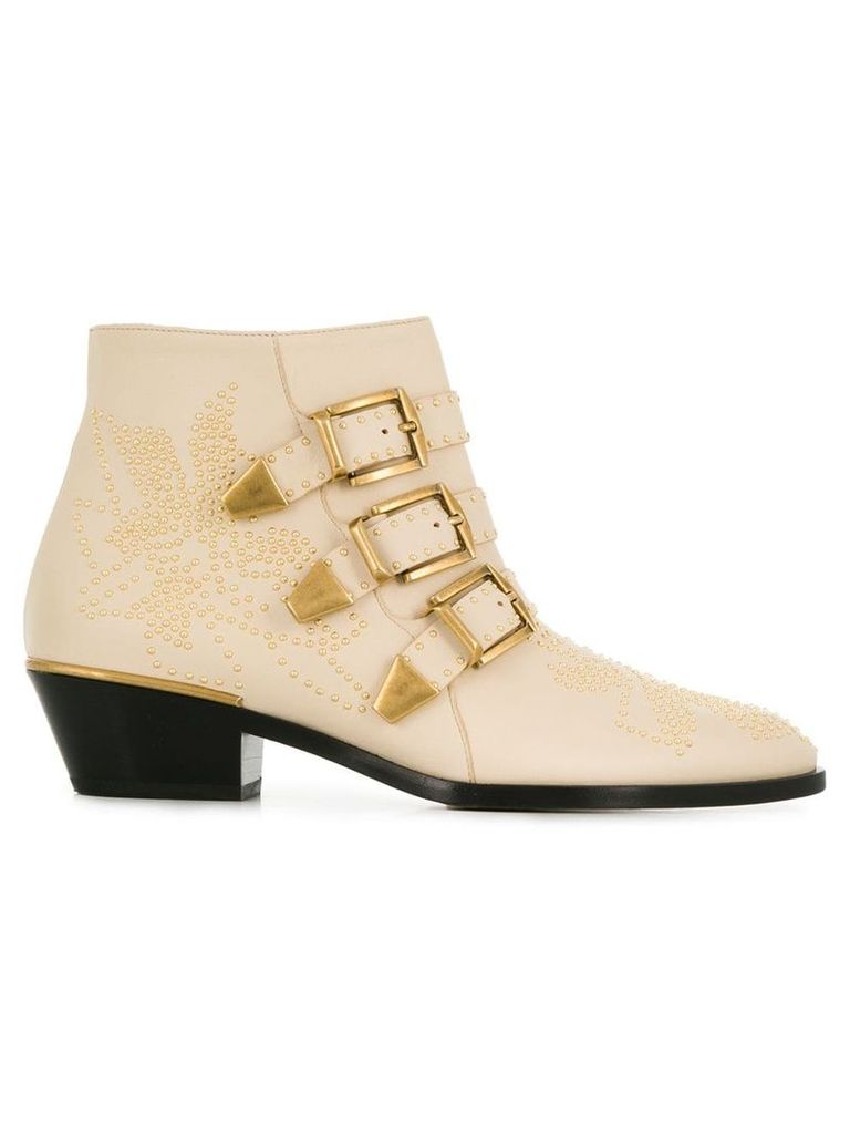 Chloé Susanna ankle boots - Neutrals