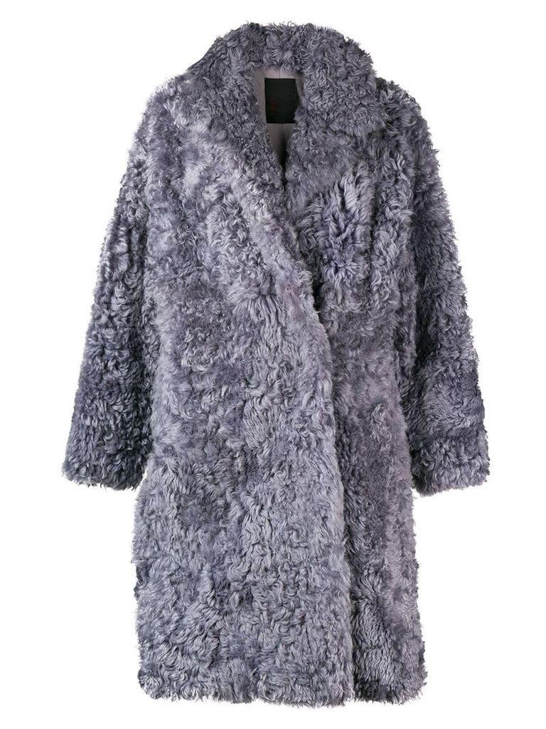 Liska loose fitted winter coat - Grey