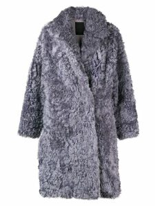 Liska loose fitted winter coat - Grey