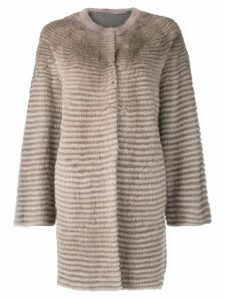 Liska mink fur coat - Neutrals