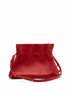 Mansur Gavriel - Mini Protea Leather Cross-body Bag - Womens - Red Multi