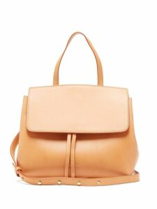 Mansur Gavriel - Mini Lady Leather Cross Body Bag - Womens - Brown Multi