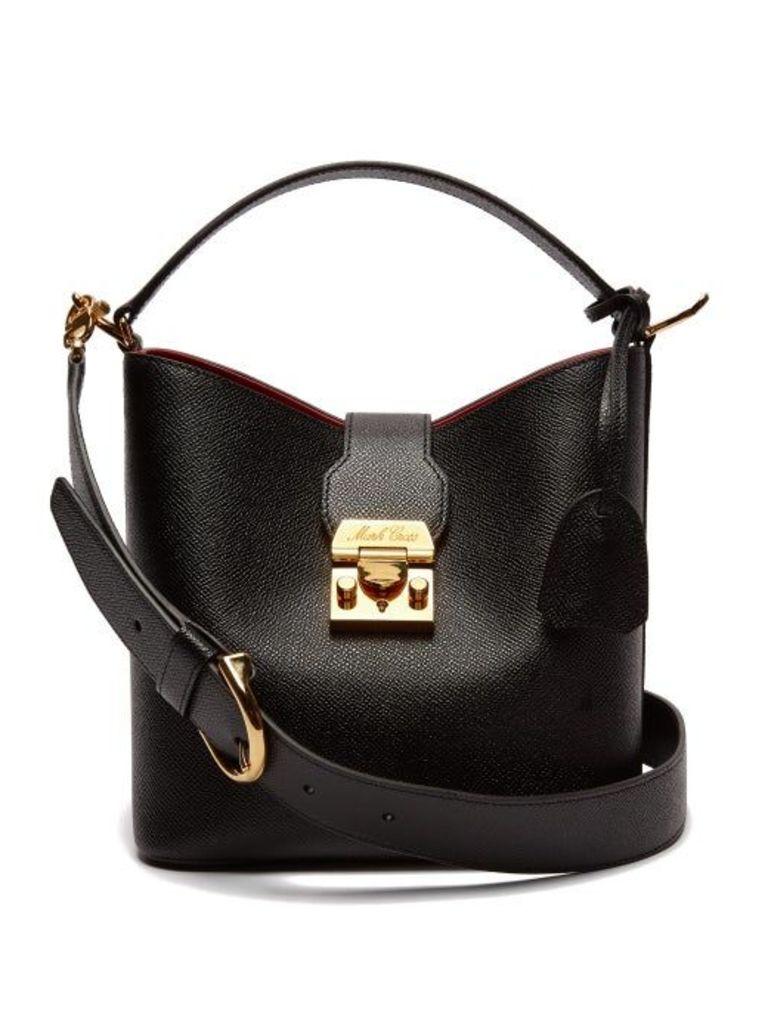 Mark Cross - Murphy Leather Bucket Bag - Womens - Black