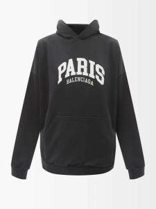 Dolce & Gabbana - Floral Print Tiered Silk Chiffon Gown - Womens - Black Multi