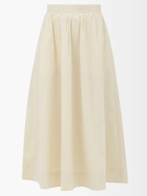 Rochas - Floral Sequinned Satin Dress - Womens - Pink Multi