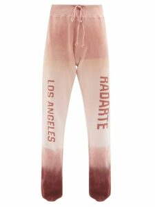Rochas - Floral Print Duchess Satin Pencil Skirt - Womens - Blue Multi
