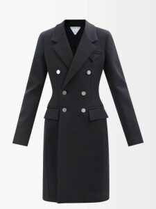 Rochas - Floral Brocade Pencil Skirt - Womens - Blue Multi
