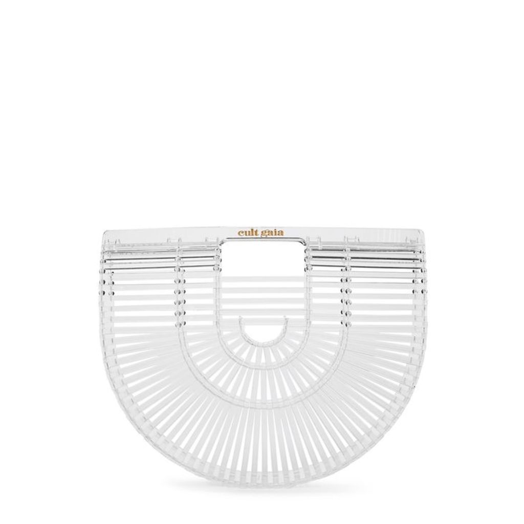 Cult Gaia Ark Small Transparent Clutch
