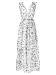 P.A.R.O.S.H. star print dress - White