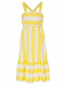 Paper London Bali square neck racerback dress - Yellow