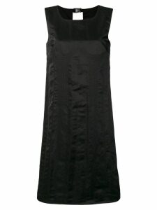Maison Margiela buckle back shift dress - Black