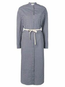 Semicouture midaxi shirt dress - Blue
