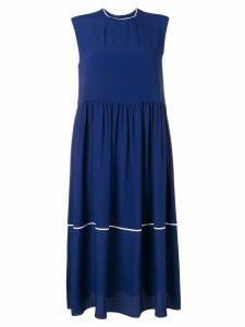 Marni sleeveless shift dress - Blue
