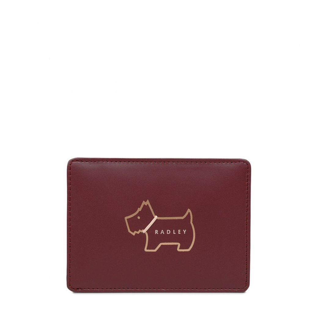 Radley London Heritage Dog Outline Small Travelcard Holder