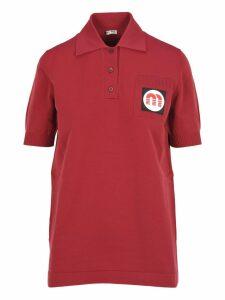 Miu Miu Miu Miu Nylon Polo Shirt